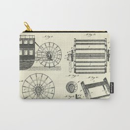 Steamboat Paddle Wheel-1898 Carry-All Pouch