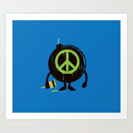peace not war Art Print