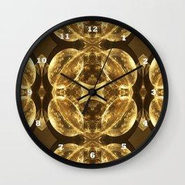 Mushroom Domes / / #fractal #fractals #3d Wall Clock