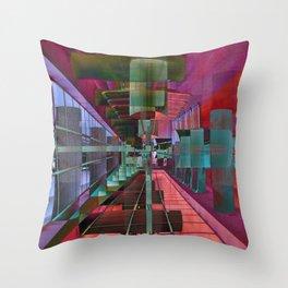 MAGIC CITY LINES Throw Pillow