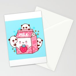 Flavored Milk Stationery Cards