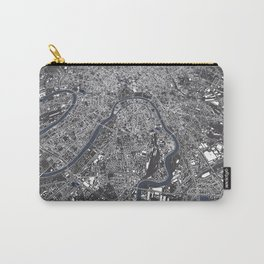 Moscow City Map Carry-All Pouch