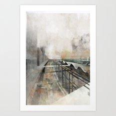 Paris d'avenir 3 Art Print