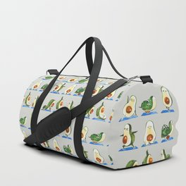Avocado Yoga Watercolor Duffle Bag