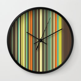 Autumn Grass Wall Clock
