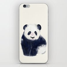 little panda bear iPhone & iPod Skin