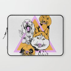 My pack of bitches Laptop Sleeve