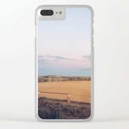 Soccer Field Clear iPhone Case