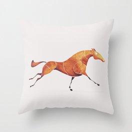 Horse 2 Throw Pillow