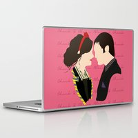 chuck Laptop & iPad Skins featuring Chair (Chuck & Blair) by Jessica Slater Design & Illustration