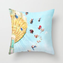 Weeeeeee Throw Pillow