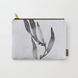 Baesic Mono Floral (Leaf 1) Carry-All Pouch