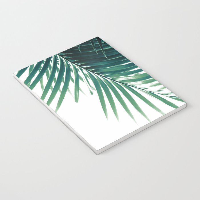 Palm Leaves Green Vibes #4 #tropical #decor #art #society6 Notebook