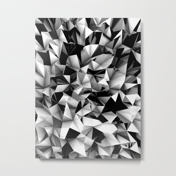 Origami or something.   Metal Print