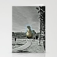t rex Stationery Cards featuring T Rex by sepulveda89