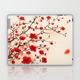 Oriental plum blossom in spring 006 Laptop & iPad Skin