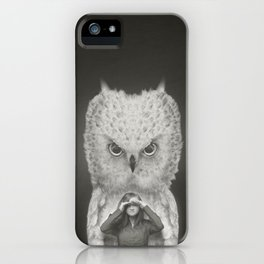 I am Your Guardian iPhone Case