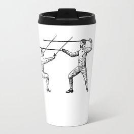 Dueling Hashtag Travel Mug