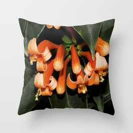 Flame Vine  Throw Pillow