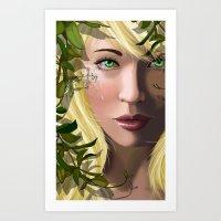 Thistledown Art Print