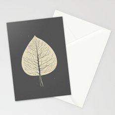 Tree-leaf Stationery Cards
