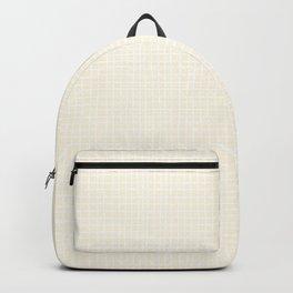 Vanilla Grid Backpack