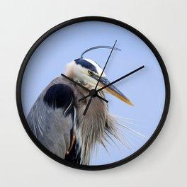 Blow Dry Wall Clock