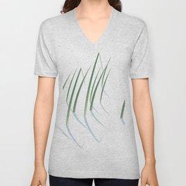 Reeds in Snow Unisex V-Neck
