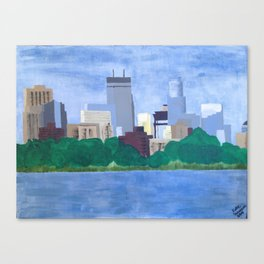 Calhoun Minneapolis Canvas Print