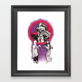 Ghost Dancing Framed Art Print