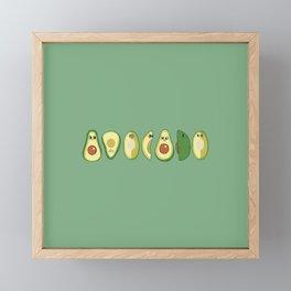 AVOCADO Framed Mini Art Print