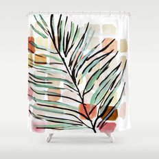 Darling, Through This Way: Under The Leaves Shower Curtain