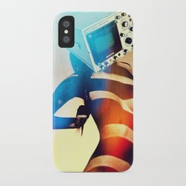 SEX ON TV - RETROSKOPIC by ZZGLAM iPhone Case
