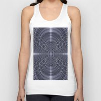 metallic Tank Tops featuring Metallic Light by Lynn Bolt