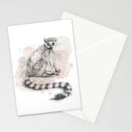 Lemur Stationery Cards