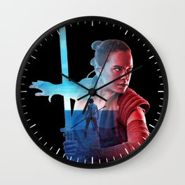 Rey: I need someone to show me my place in all this Wall Clock