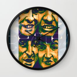 The Scarabs Wall Clock