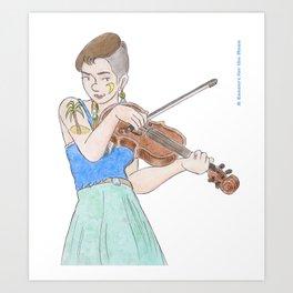 Lillie Mae Art Print