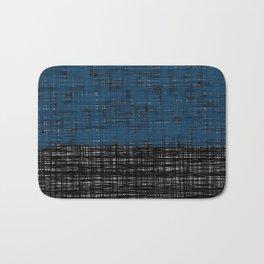 platno (blue) Bath Mat