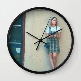 Lady bird poster Wall Clock