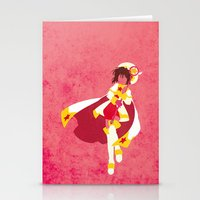 sakura Stationery Cards featuring Sakura by JHTY