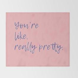Regina George (Pink) Throw Blanket
