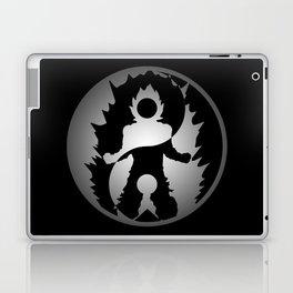 Yin Yang Super Saiyan Symbol Laptop & iPad Skin