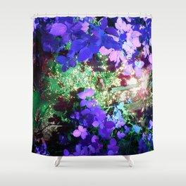 Iris Julep Shower Curtain