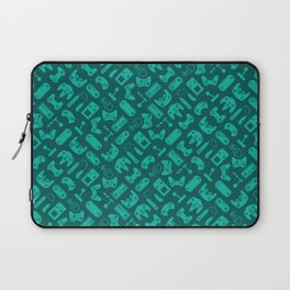 Control Your Game - Tradewinds Turquoise Laptop Sleeve
