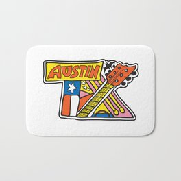 Austin TX Bath Mat