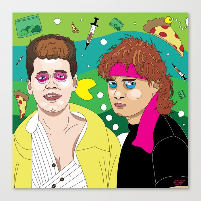 Lost Boys Canvas Print