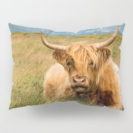Highland Cow Pillow Sham