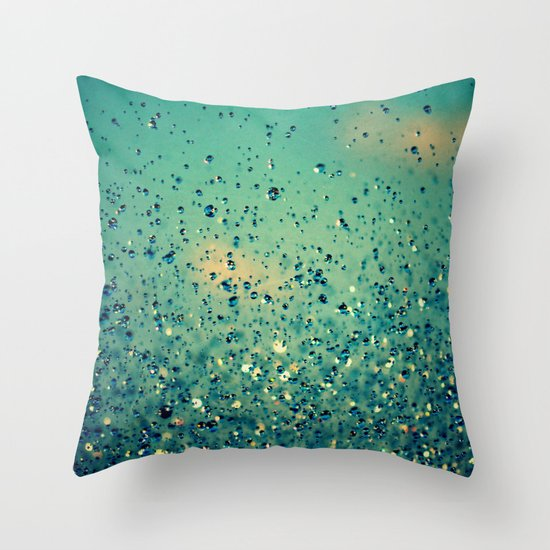 Lullaby, Just Close Your Eyes Throw Pillow
