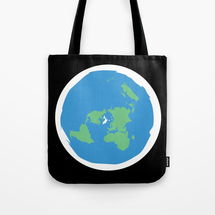 Flat Earth Ice Wall. - Gift Tote Bag
